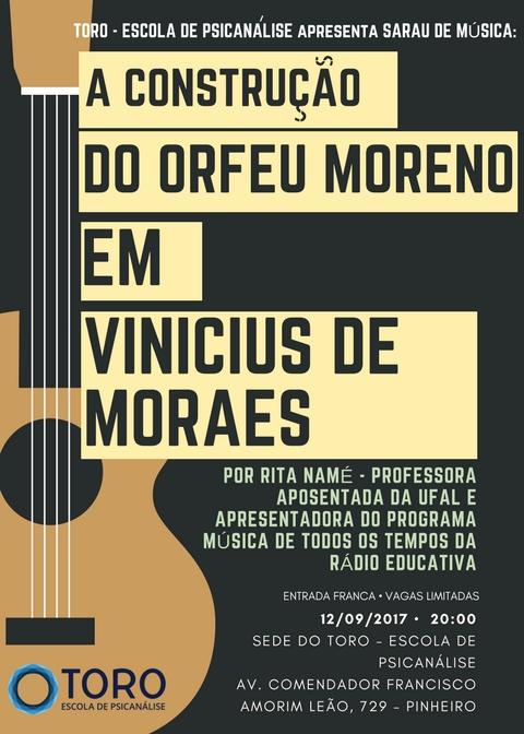 A CONSTRUCAO DE ORFEU MORENO EM VINICIUS DE MORAES