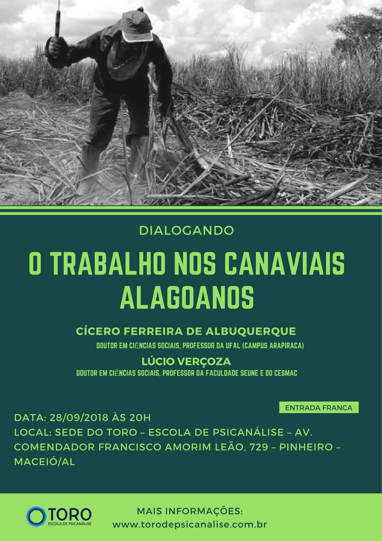 O TRABALHO NOS CANAVIAIS ALAGOANOS II